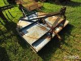 King Kutter 6'  3pt rotary mower w/ shaft