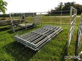 (10) 6'x12' heavy duty livestock panels (new)