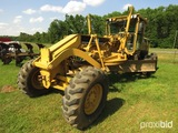 Caterpillar 140H motor grader (county owned)