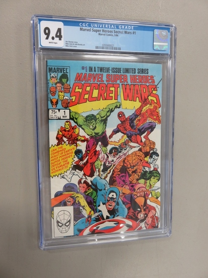 Marvel Secret Wars #1/Key Issue CGC 9.4