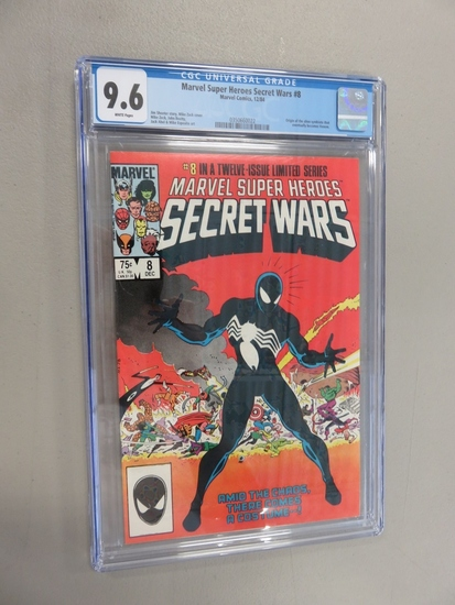 Marvel Secret Wars #8/Key Issue CGC 9.6
