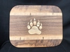 Paw Inlay Cutting Board