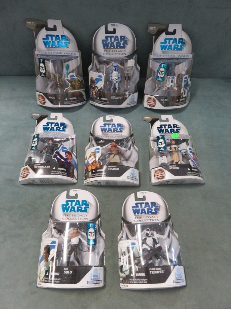 Star Wars Action Figure Lot of (8)