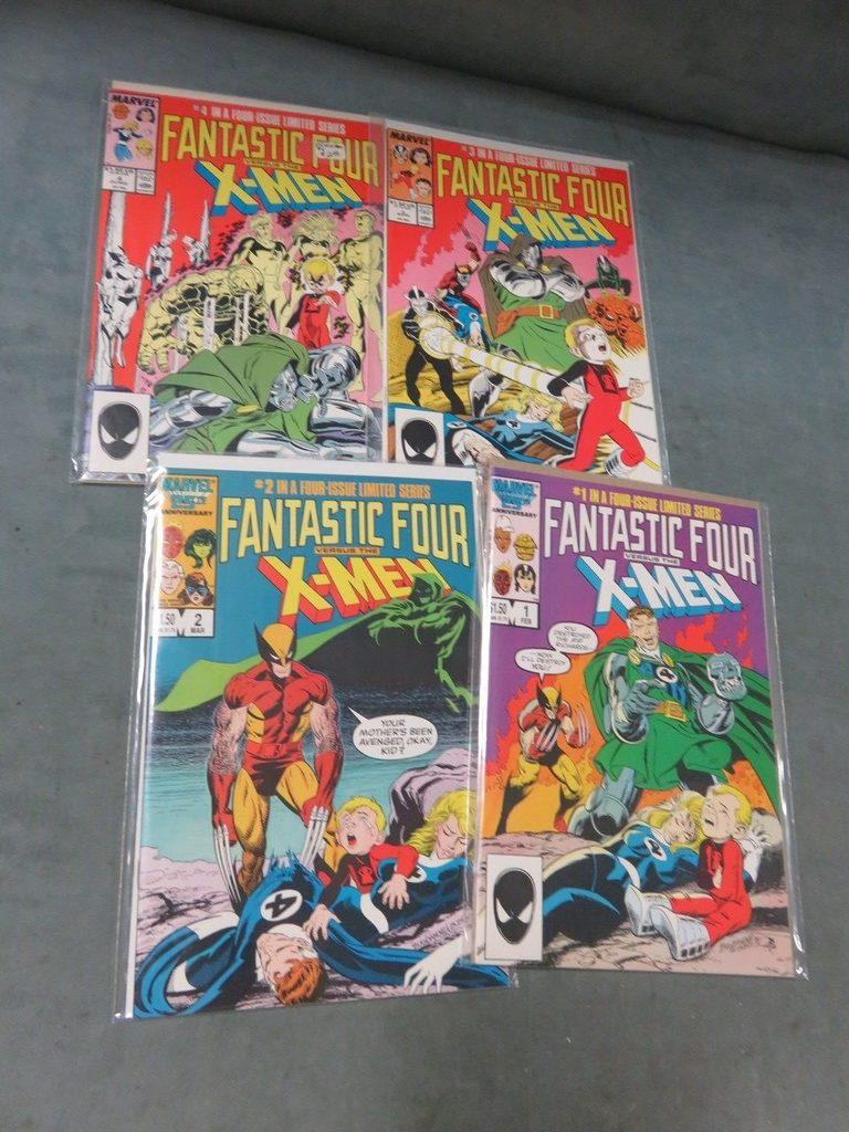 Fantastic Four VS The X-Men (1986) 1-4