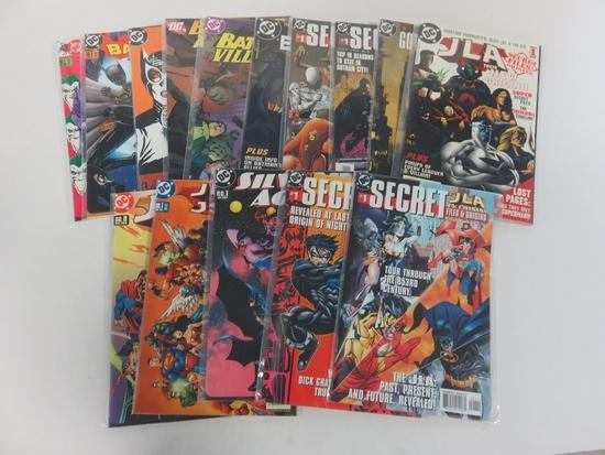 DC Secret Files & Origins Lot of (13)