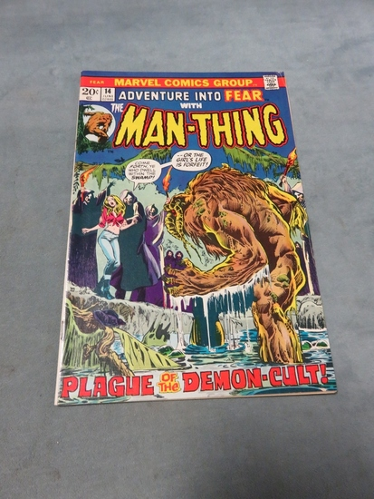Fear #14/1973 Early Man-Thing