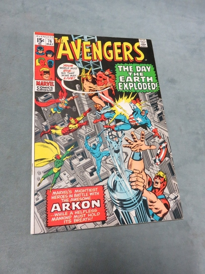 Avengers #76/1970/Late Silver Age Issue