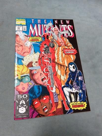 New Mutants #98/Key First App. Deadpool