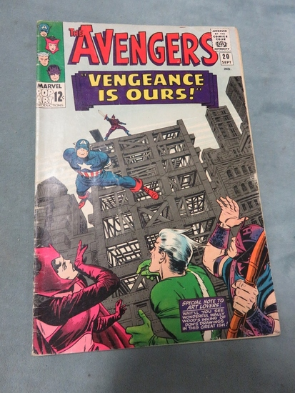Avengers #20/Early Silver Age Issue