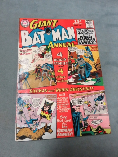 Batman Annual #7/1964 Giant Size