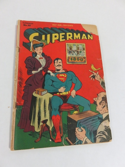 Superman #35 (1945) Golden Age Comic