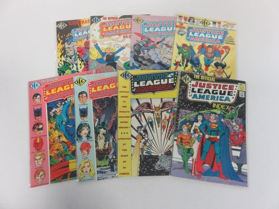 Official Justice League Index/ICG #1-8