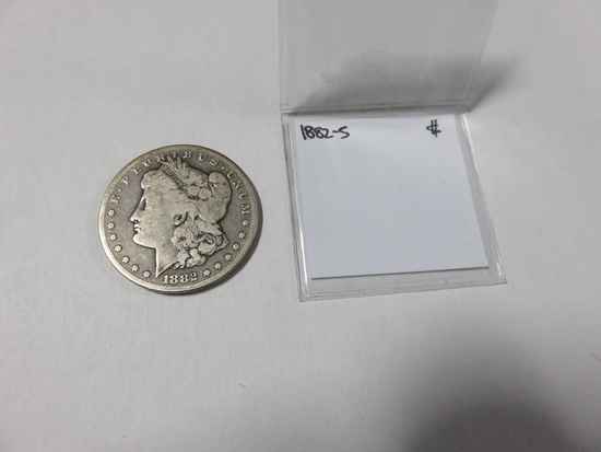 1882-S Morgan Silver Dollar