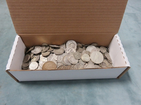 Large Group of $116.00 Face U.S. Silver