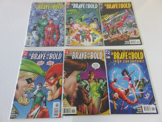 Brave and The Bold #1-6 Waid Signed!