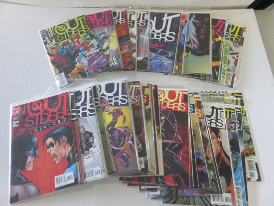 DC Outsiders #1-50 + Annual #1 (2007)