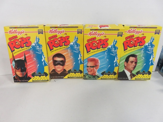 Batman Forever Cereal Box Set of 4 Kellogg's