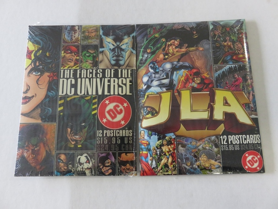 DC Collector Postcard Sets Lot of (2)