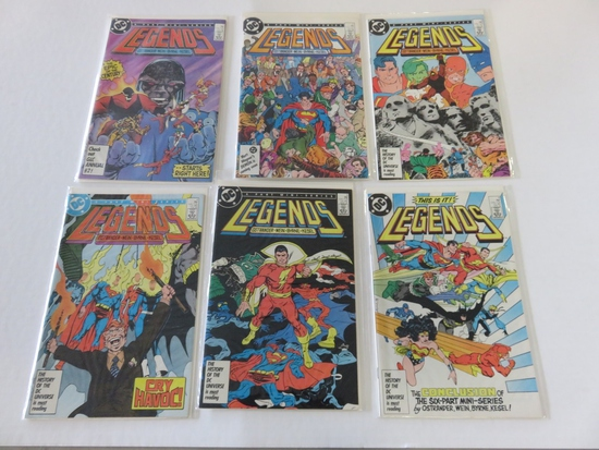 Legends #1-6 (1987) 1st Suicide Squad