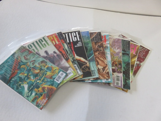 Justice #1-12 Alex Ross Complete
