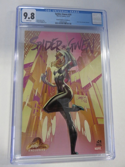Spider-Gwen #24 CGC 9.8 Campbell Variant