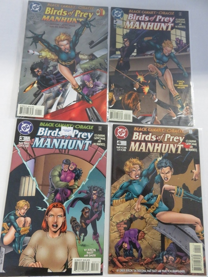 Birds of Prey: Manhunt #1-4 Complete