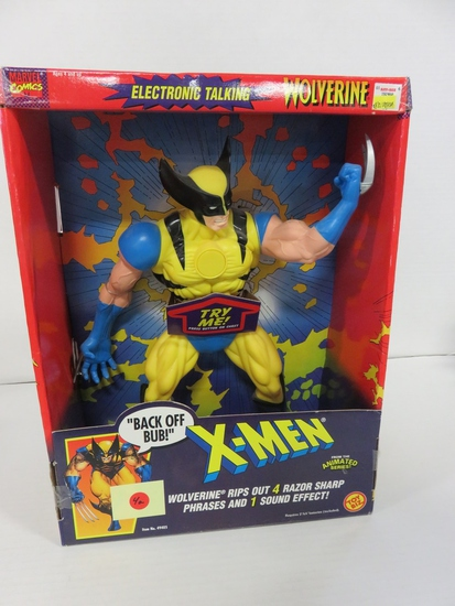 "X-Men Wolverine 15"" Electronic Talking Figure"