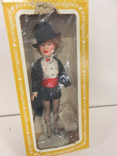 I Love Lucy Lucille Ball 15 inch Doll Effanbee 19