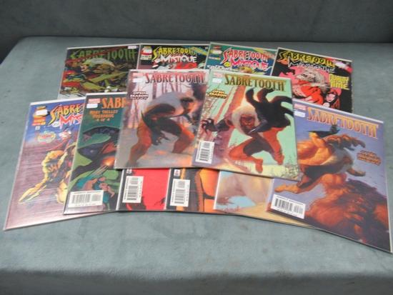 Sabretooth Comic Lot of 12