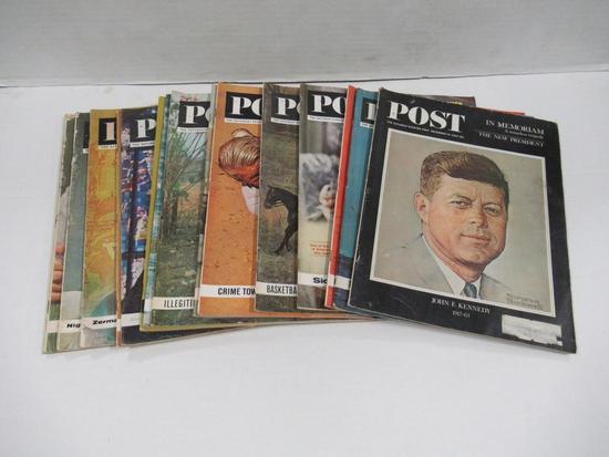 Saturday Evening Post 1963 Lot of (15)