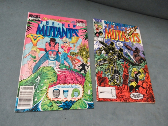 New Mutants Annual #5 + Special