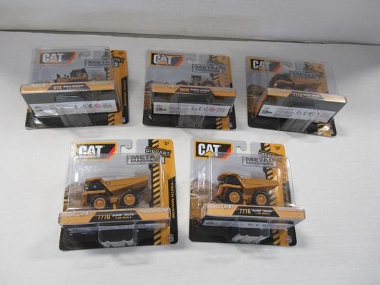 CAT Construction Die-Cast Vehicle Lot