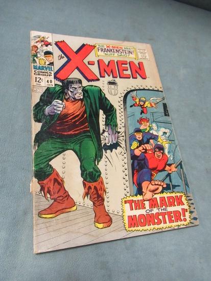 X-Men #40 Frankenstein Cover