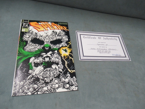 The Spectre #1 Signed by John Ostrander