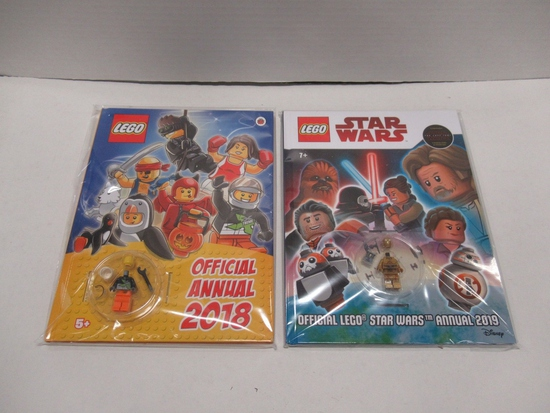 LEGO Annual (Lot of 2) Star Wars