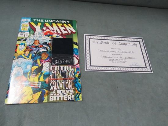 Uncanny X-Men #304 JRJ Signed