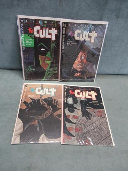 Batman the Cult Set 1-4/First Printings
