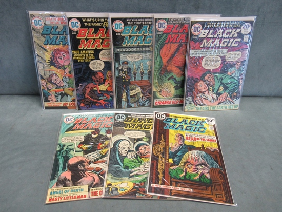 Black Magic 1-8/Obscure Early DC Bronze