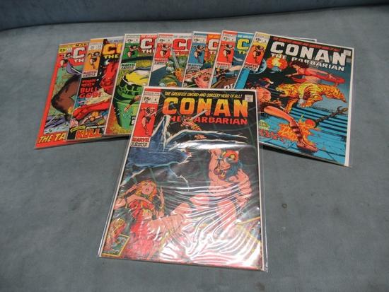 Conan/Marvel Early Bronze Group (8)