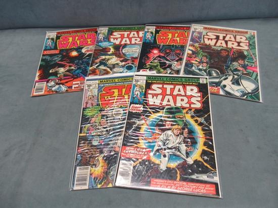 Star Wars 1-6/Marvel Bronze High Grade!