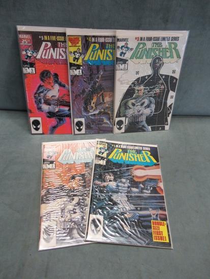 Punisher 1985/1st Series Set 1-5