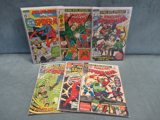 Amazing Spiderman Silver King Size Run 3-8