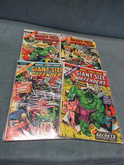 Giant-Size Defenders 1-4/Marvel Bronze