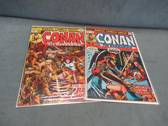 Conan 23-24/Key First Red Sonja