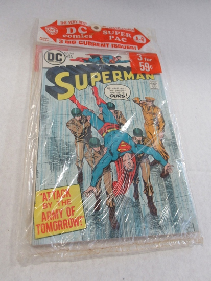 Bronze Age Sealed Super Pac of (3)/Key!