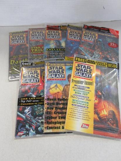 Star Wars Galaxy Magazine Lot of (8)