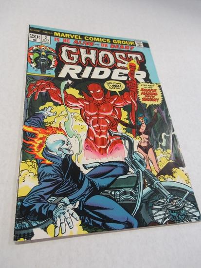 Ghost Rider #2 (1973) Semi-Key