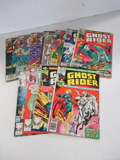 Bronze Age Ghost Rider Comic Lot of (11)/Key
