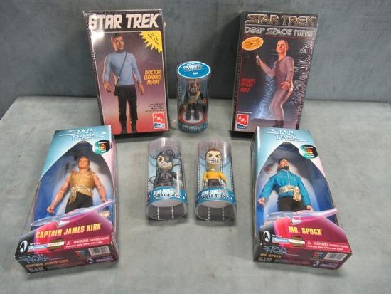 Star Trek Figure & Model Kit Lot of (7)