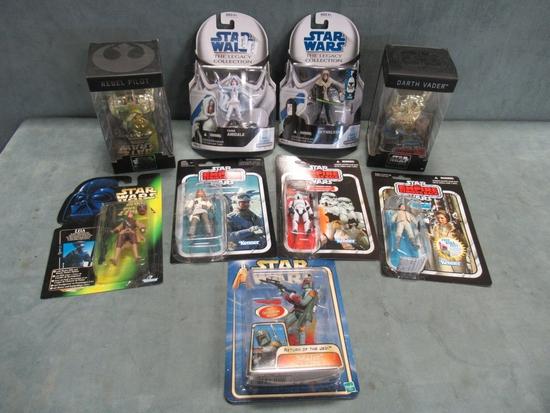 Star Wars Rare Figure & Toy Lot